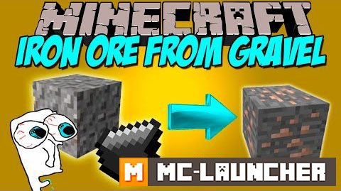 Iron Ore from Gravel 1.8